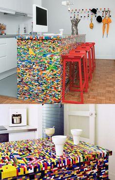 Lego bar. #reuse #upcycle