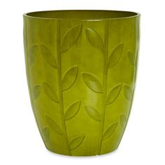 The decorative planter made by Fiskars ($25, lowes.com) is made of lightweight fiberglass instead of ceramic.