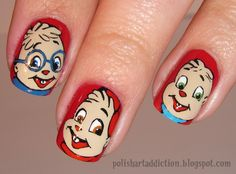 alvin and the chipmunk nails!