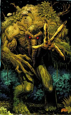 Man-Thing - Art Adams