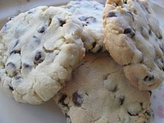 Italian Bakery Style Chocolate Chip Cookies.
