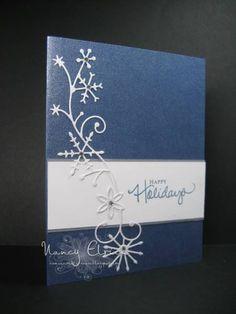 Memory Box Snowflake Swirl