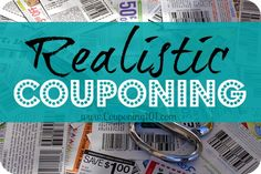 You DON'T have to spend hours and hours clipping coupons to save money. Learn how to set realistic expectations and save money without extreme couponing.