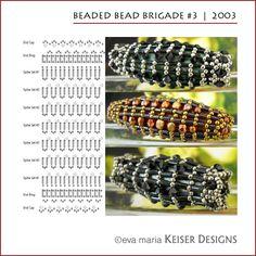 * Eva Maria Keiser Designs: Beaded Bead Brigade #3   2003
