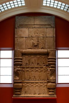 Assyrian King Upon His Throne
