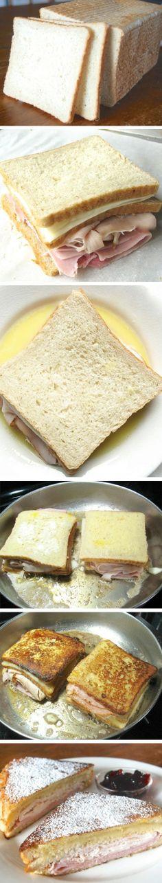 Ham & Cheese Monte Cristo | Recipe By Photo