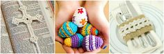 Crocheted Easter Eggs PatternPetals to Picots