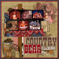 Country Bear Jamboree - MouseScrappers.com
