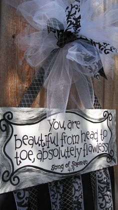 You're beautiful canvas for baby girl bows.