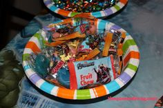 the #avengers candy