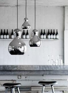 #lighting #pendant #silver