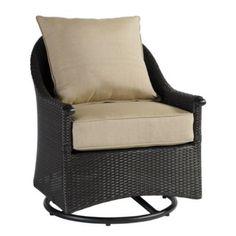 Amalfi Swivel Glider Club Chair   Ballard Designs $899