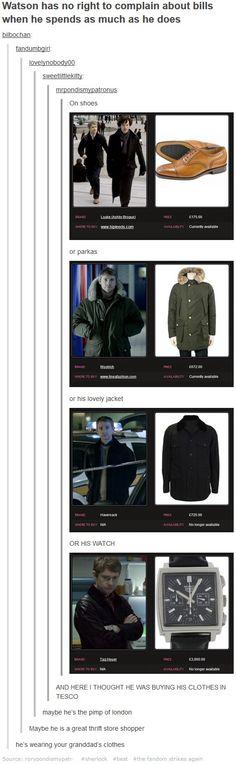 John's Wardrobe bahahahahaha