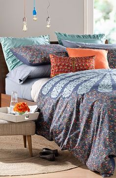 Love the print of this duvet cover!