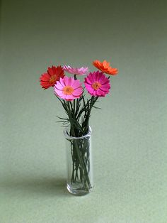 Hey, I found this really awesome Etsy listing at https://www.etsy.com/listing/164027061/gerbera-paper-flower-kit-for-112th-scale