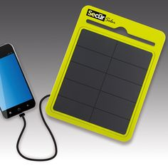 SOLAR POWER PAD 3000 - Ultra-High Efficiency Solar Cell Phone Charger
