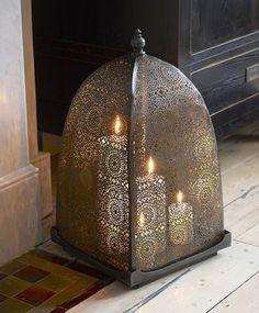 Moorish iron windlight