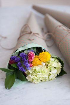 DIY Mini Bouquets