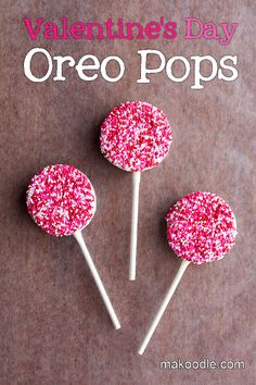 Valentines Oreo Pops - A simple, cute treat for Valentine's Day