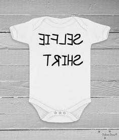 Funny Baby Clothes Gender Neutral Funny Baby Shower by BabeeBees, $15.00