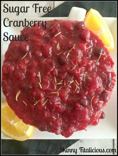 Sugar Free Cranberry