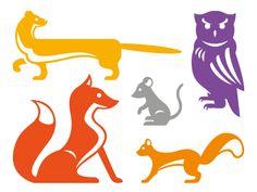 Wip_woodland-animals via dribble