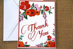 Floral Cards by SKCouch on Etsy