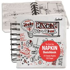 Great Ideas Napkin Sketchbook $5.99