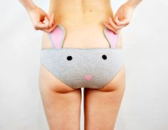 Panties with mouse face and ears lingerie par knickerocker sur Etsy, $35.00