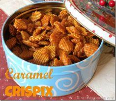 Chex Mix Recipes: Caramel Chex Mix
