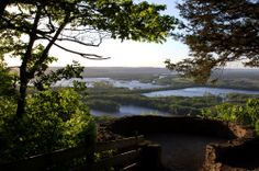Wyalusing State Park - a 2,628-acre Wisconsin state park at the confluence of the Mississippi and Wisconsin rivers in the town of Wyalusing, just south of Prairie du Chien
