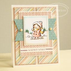 love the layout on this card - bjl
