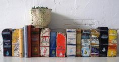 Books made from bricks - Boing Boing
