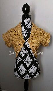 Busting Stitches: Amber Crochet Bolero S/M