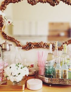 pretty bar accessories