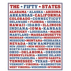 50 States Printable from Printabelle
