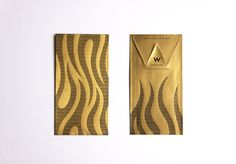 Red Pocket Design for W Hotel  by Ken Lo, via Behance