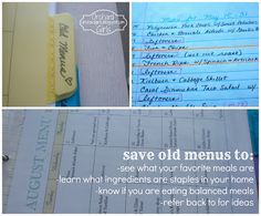 orchards, organ, food, start menu, meal plan, diy project, grocery lists, orchard girl, menu planning