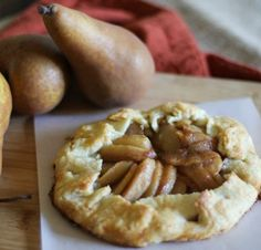 GF Pear Almond Galettes | Bob's Red Mill