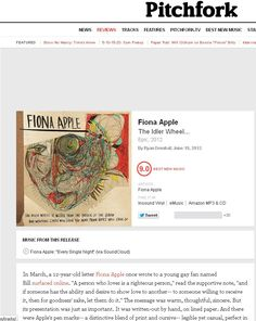 Fiona Apple - Pitchfork Review
