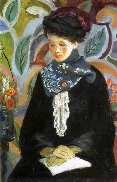 ♀ Painted Art Portraits ♀ Vanessa Bell