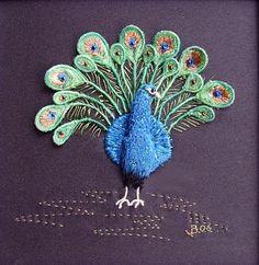 Prancing Peacock by Jennifer Bennett