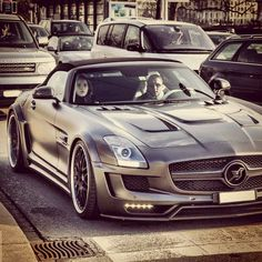 Sick Hamann modified Mercedes
