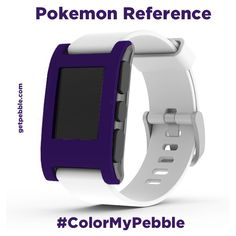 "Cesar R. on Kickstarter says, ""Gengar is the best!"" Team Pebble had to Google this ""Pokemon Reference"" ;)"
