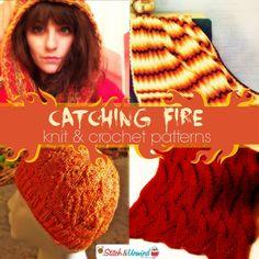 Hot Knit & Crochet Patterns + Hunger Games