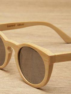 Illesteva Leonard Wood Sunglasses