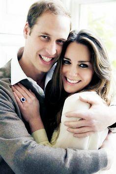The famous engagement photo.