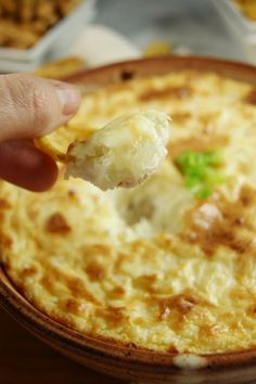 Hot Onion Souffle Di