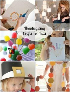 Great list of Thanksgiving Crafts and Activities