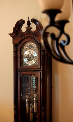 Our grandfather clock.